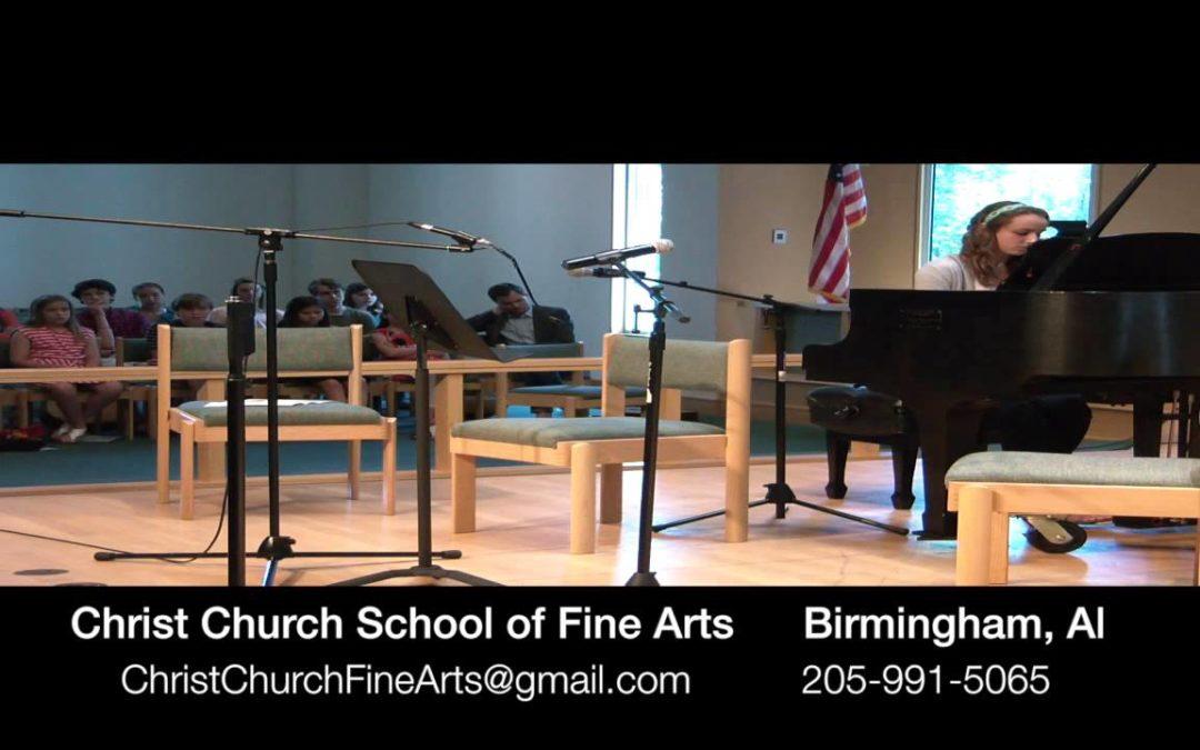 Piano Highlights at Christ Church SFA