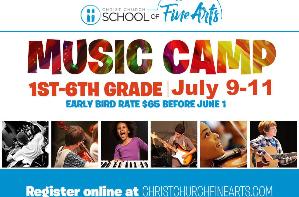 Save the Date: Music Camp 2019