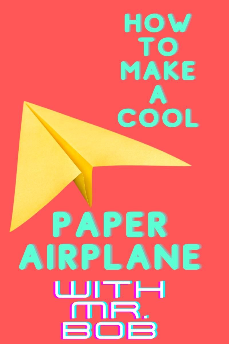 Paper Airplane at Christ Church SFA